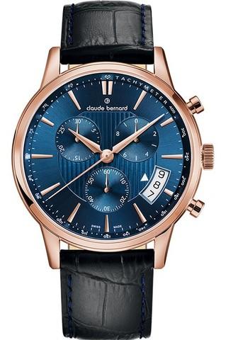 Купить мужские наручные часы Claude Bernard 01002 37R BUIR по доступной цене