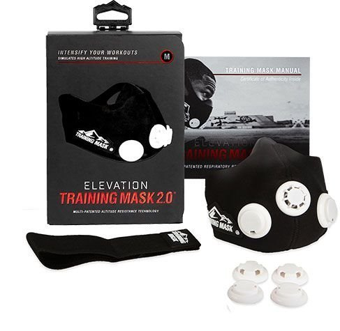 Тренировочная маска Elevation Training Mask 2.0 - Черная