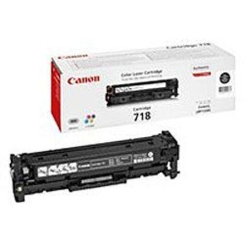 Картридж черный 718 для Canon LBP7200/MF8330/8350