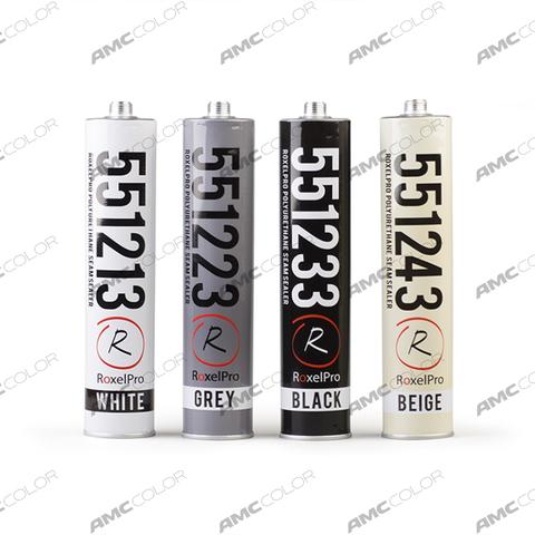 RoxelPro Герметик ПУ 550, черный  310мл 551233