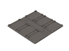 Пластина-фиксатор UTS Model 05