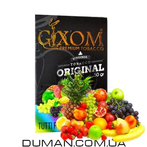 Табак Gixom Tutti Frutti (Гиксом Фруктовый Микс)