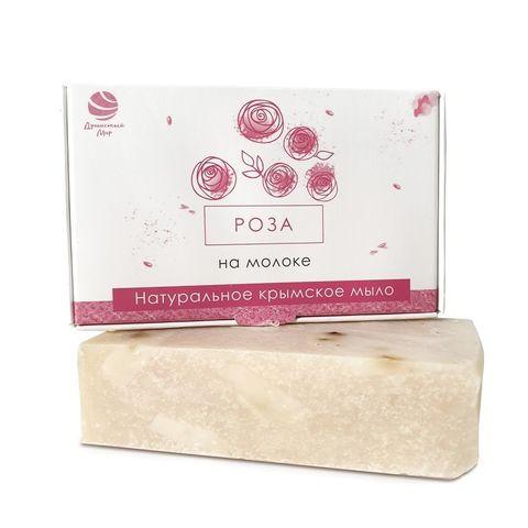 Натуральное крымское мыло РОЗА на молоке