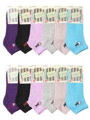 362 носки женские, 36-42 цветные