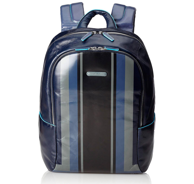 Рюкзак Piquadro Blue Square, цвет синий, 27,5x39x15 см (CA3214B2SER/BLU)
