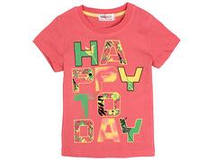 702-6 футболка детская, розовая