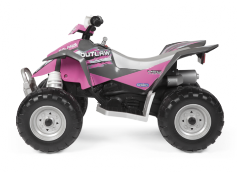 Детский квадроцикл Peg Perego Polaris Outlaw Pink Power IGOR0089