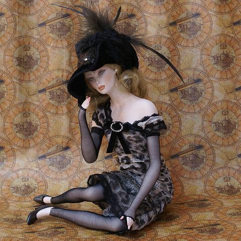 Кукла фарфоровая коллекционная Marigio Нина