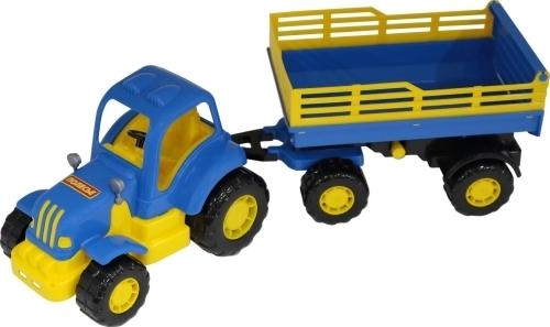 Крепыш, трактор с прицепом N2 (Артикул: EV20383)