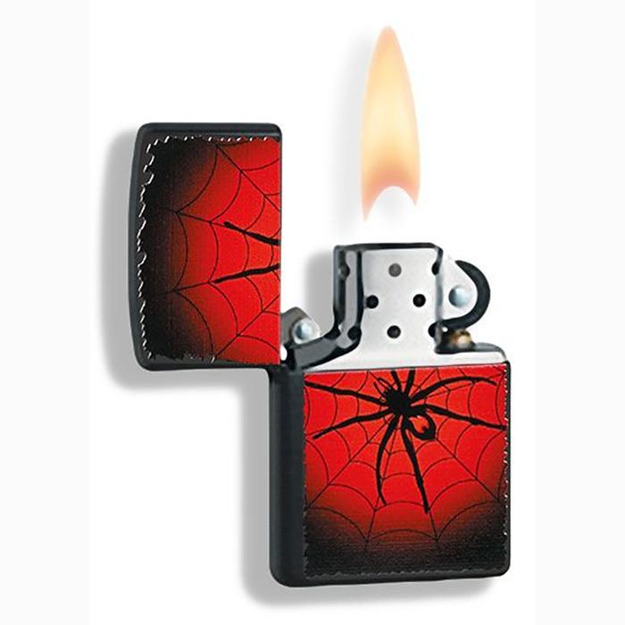 Зажигалка Zippo №218 Red Web