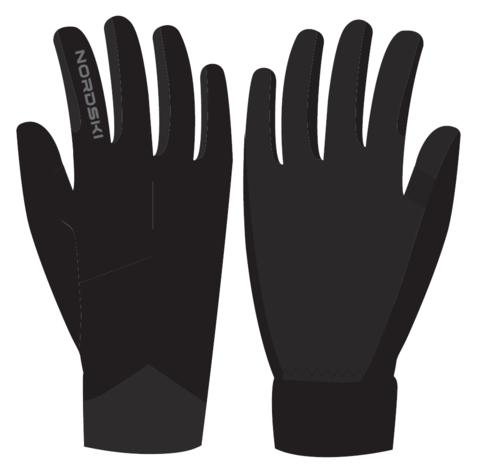 Nordski Elite перчатки black