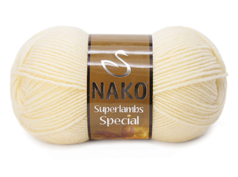 Пряжа Nako Superlambs Special арт. 256 беж