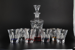 Набор для виски 7 предметов цветные APOLLO