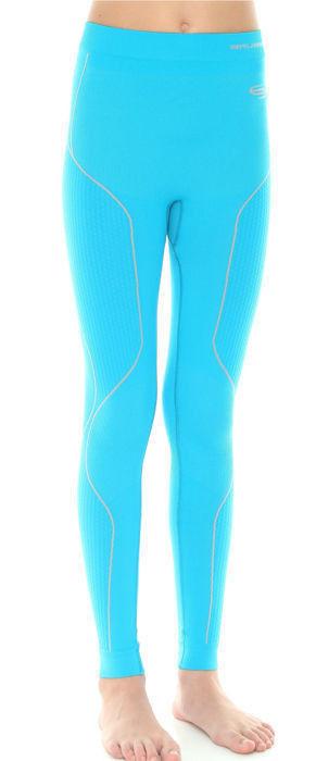 Термобелье кальсоны Brubeck Thermo голубой (LE10990) подростковые для девочек