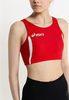 Женский топ асикс Hop Lady Top (T534Z6 2601) красный