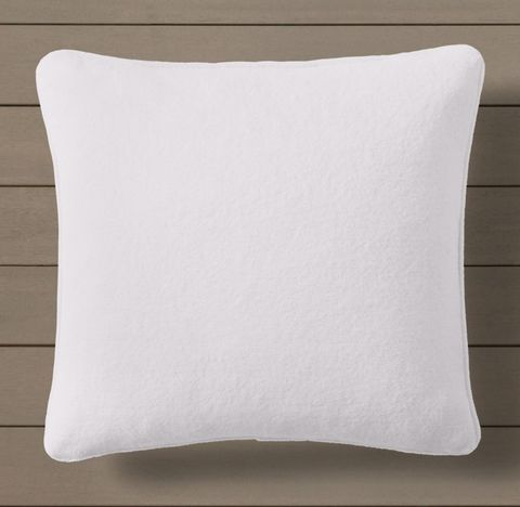 Custom Sunbrella® Knitted Terry Pillow Cover - Square