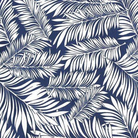 Хлопковая ткань Сити уличная коллекция синий