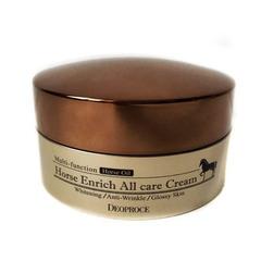 Deoproce Horse Enrich All Care Cream - Питательный крем с лошадиным жиром