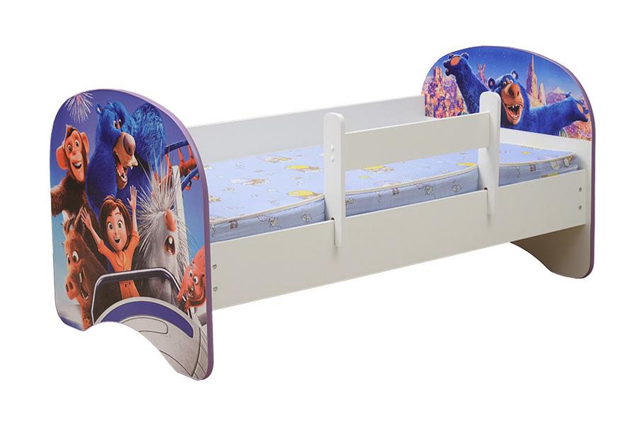 Кровать детская с фотопечатью Парк Джун