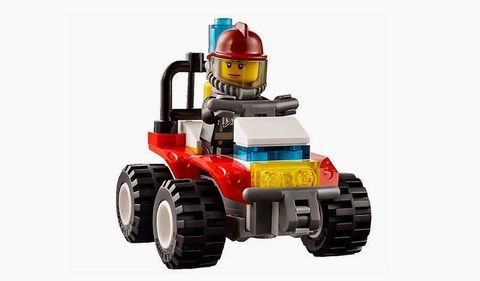 LEGO City: Пожарная охрана для начинающих 60088