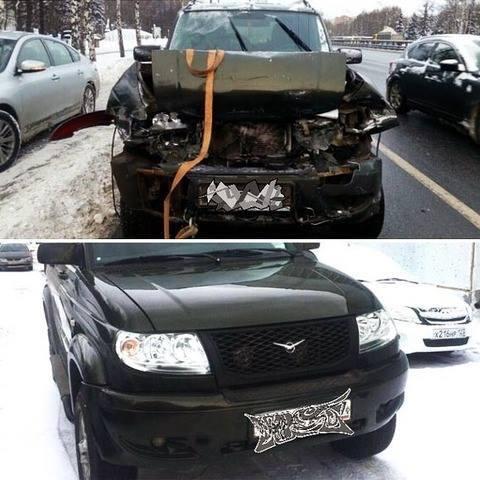 Кузовной ремонт УАЗ Патриот
