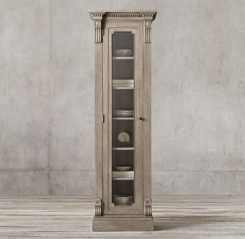 St. James Glass Single-Door Cabinet