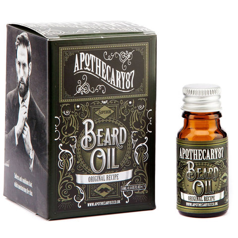 Масло для бороды APOTHECARY87 Original Recipe beard oil 10ml