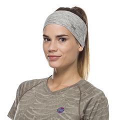 Повязка-чалма летняя Buff Headband Tapered CoolNet Silver Grey Htr