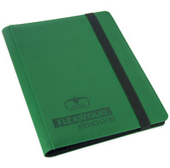 9-Pocket FlexXfolio XenoSkin Green