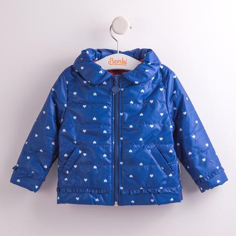 КТ155 Куртка для девочки утепленная