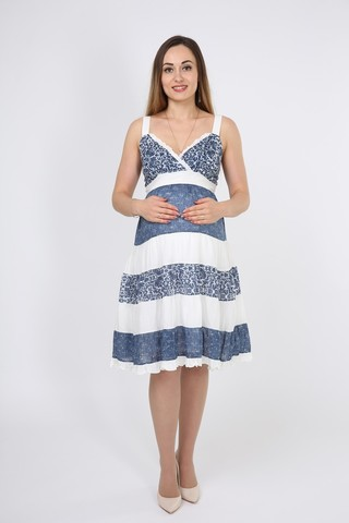 Платье 05953 разноцветный