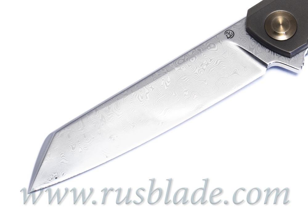 Cheburkov Dragon Damascus Knife Limited