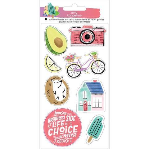 Стикеры объемные   10х20см -Amy Tan Stay Sweet от American Crafts