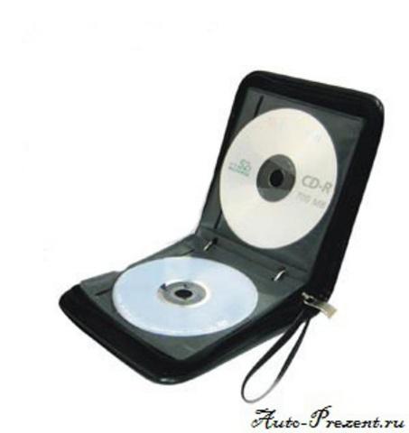 Портмоне для CD, DVD дисков с логотипом SEAT