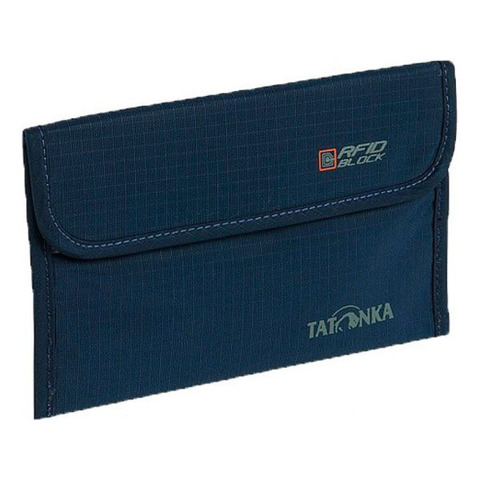 кошелек Tatonka TRAVEL FOLDER RFID navy