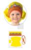 Городецкая роспись кокошник для девочки Осень ( комплект для пошива )