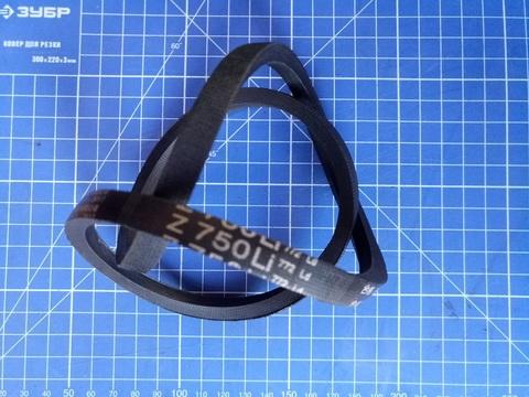 Ремень привода колес газонокосилки DDE клиновой 10x750Li (772Lw) модели WYZ18/WYZ18H2-13