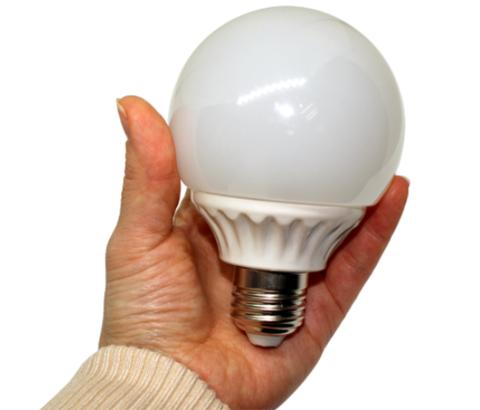 Лампочка горит в руке 3.0