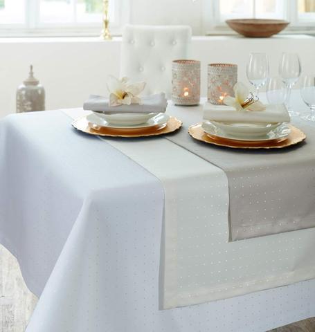 Дорожка на стол Curt Bauer Petito 50x160 белая