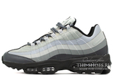 Кроссовки Мужские Nike Air Max 95 Ultra White Grey Black