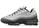 Кроссовки Мужские Nike Air Max 95 Ultra White Grey Black