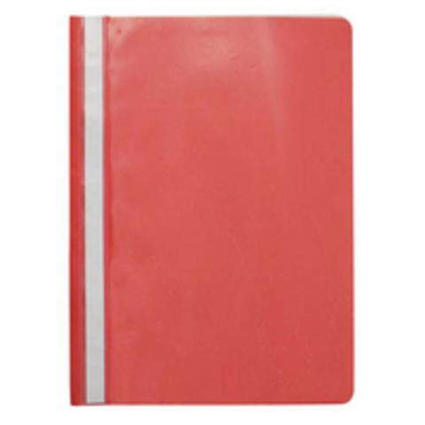 Папка-скоросшиватель Attache A4 красная 10 шт/уп