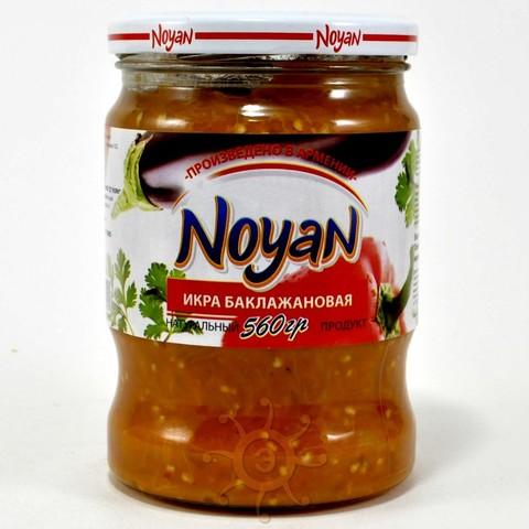 Икра баклажанная Noyan, 560г