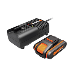 Комплект WORX3601:  1 аккумулятор 2 Ач и зарядное устройство на 2А