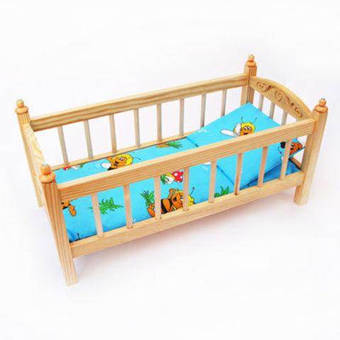 Кукольная кроватка деревянная большая