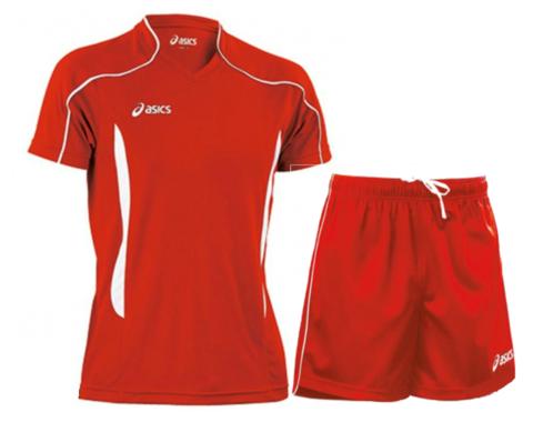 Волейбольная форма Asics Volo Zone мужская красная
