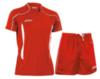 Мужская волейбольная форма Asics Volo Zone (T604Z1 2601-T605Z1 0026) красная