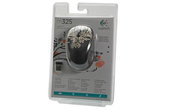 LOGITECH M325 Wireless Fuchsia Burst