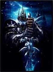 Постер на холсте Варкрафт Король Лич