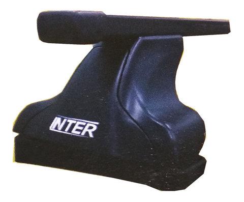 Багажник Интер модельный в штатные места 8895 прямоугольные дуги 120 см.
